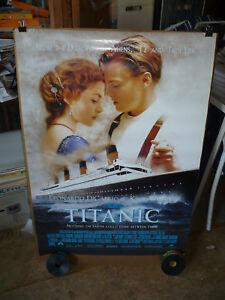 TITANIC, orig rolled 1-sht B / movie poster (Leonardo DiCaprio; Kate Winslet)