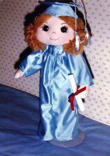 "Sewing Pattern  16"" Graduation grad school rag fabric doll cap gown"