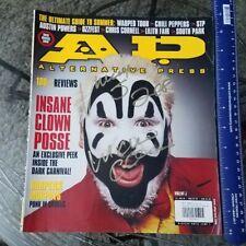 insane clown posse 1999 AP signed magazine icp violent j cover