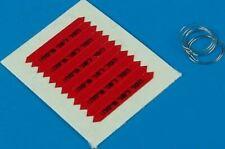 AEROBONUS 1/48 REMOVE BEFORE FLIGHT FLAGS IDF BLACK LETTERING 480029