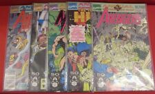 SUBTERRANEAN WARS 1-5 MARVEL ANNUAL COMIC SET COMPLETE AVENGERS HULK 1991 NM