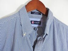 Chaps Classic Fit Blue Plaid Checked Shirt Size 15 ½ x 32/33