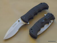 TACFORCE SPRING ASSISTED TACTICAL KNIFE WITH POCKET CLIP - 9 INCH OVERALL
