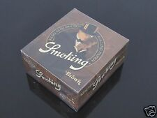 1 Box BROWN Smoking 110mm King Size FINE QUALITY UNBLEACHED ROLLING PAPER #1162