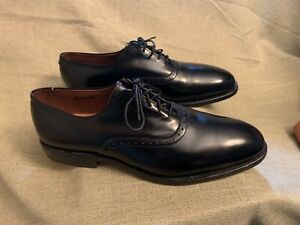 Allen Edmonds Danbury Saddle Oxfords Black Calfskin 7.5D