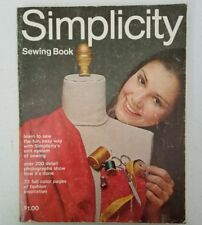 1970 Simplicity Sewing Book Vintage Fashion Book