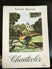 Chantecler / Edmond Rostand / Illustrations de Jean Gradassi