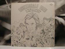FRED BONGUSTO - ECCEZIONALE FRED - LE PIU' BELLE CANZONI LP EX/VG+ 1972 RI-FI
