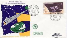 FDC / T.A.A.F. / TERRES AUSTRALES /  TIMBRE PA N° 12 SATELLITE D1 / KERGUELEN