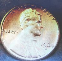 UNCIRCULATED 1964D LINCOLN MEMORIAL PENNY!