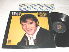 "Elvis Presley ""Let's Be Friends"" 1975 Rock LP, Nice VG++!, on Pickwick, Vinyl"