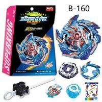 Beyblade Burst Superking B-160 Booster King Helios .Zn 1B With Launcher Box Gift