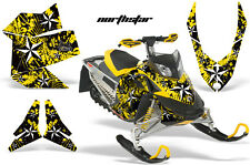 Snowmobile Graphics Kit Sled Decal Wrap For Ski Doo Rev XP Summit 08-12 NSTAR Y