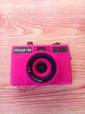 Holga 135 35mm Hot Pink Point & Shoot Film Camera