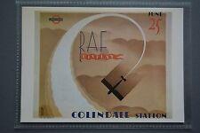 R&L Modern Postcard:1932 Poster RAF Display Colindale Station London Underground