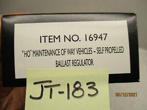 JT-183 Bachmann Spectrum 1694 Maint of Way Self Propelled Ballast Regulator