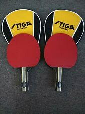 EUC Stiga Titan Table Tennis/Ping-Pong Rackets(2) & Covers(2)