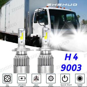 2Side LED Headlight Bulbs Conversion Kit For Nissan UD 1800 2000 2300 2600 3300
