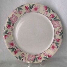 Arita Chintz Serving Platter Round Pink Green Floral New Tradition Japan China