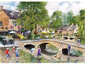 Gibsons Bourton on the Water 1000 Piece Jigsaw Puzzle