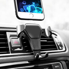 Universal Gravity Car Mount Holder Stand Air Vent Cradle For Mobile Phone GPS