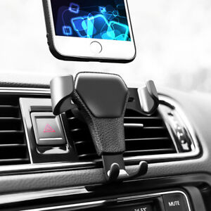 Universal Schwerkraft KFZ Auto Handy Halterung Lüftung Halter F Handy GPS iPhone