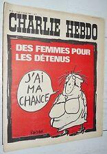 CHARLIE HEBDO N°61 17/01 1972 WOLINSKI CAVANNA CHORON REISER GEBE WILLEM CABU