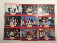 Lot Of 9 Trading Cards From The Beach Boys
