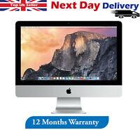 "Apple iMac 21.5"" Core i5 4thG 2.7GHz 8GB RAM 1TB HDD Late 2013 OS Mojave A Grade"