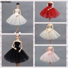 "5pcs/lot Fashion Ballet Dress For 11.5"" Doll Clothes Party Dresses 1/6 Kids Toy"