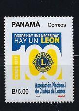 PANAMA 2018 NEW $5.00 CLUB DE LEONES - LIONS CLUB INTERNATIONAL MNH