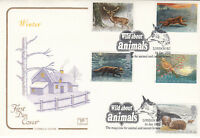 (09370) GB Cotswold FDC Wintertime Wild About Animals London EC 14 January 1992