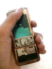 for  nokia 6300 body panel faceplate housing mobile body with middle copper new