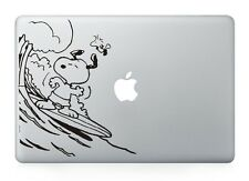 "Snoopy Surfing Laptop Apple Sticker Viny Decal Macbook Air/Pro/Retina 13""15"