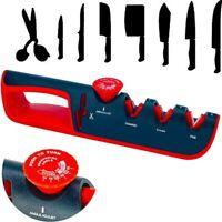 Kitchen Adjustable Knife Sharpener Chef Sharpeners 4 in 1 Blade Sharpening Tool