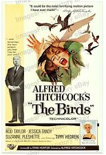 20x30 Poster Rod Taylor Tippi Hedren Suzanne Pleshette The Birds 1963 #BIR