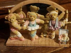 Cherished Teddies Bev Bertha Bethany Ballerinas #104692 Retailer Exclusive New