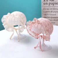 Newborn Baby Lace Hat Summer Girl Sun Hat Infant Bonnet Caps Photography Props