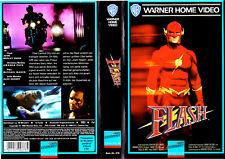 "VHS - "" FLASH "" (1990) - John Wesley Shipp - Amanda Pays"