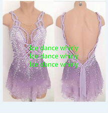 Figure Skating Dresses Custom Baton Twirling Costume Ice figure Skating Dresses
