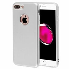 Silver Matte Mobile Phone Cases & Covers for iPhone 7 Plus