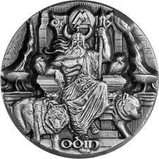 2016 3 oz Odin Silver Coin | Legends of Asgard | Max Relief | In Hand!