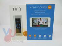 Ring Pro Door Bell Hardwired Doorbell Wireless Brand New 8VR1P6-0EN0