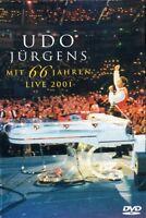 """UDO JÜRGENS """"MIT 66 JAHREN - LIVE 2001"""" DVD NEU ANGEBOT"""