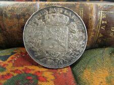 piece monnaie 5 francs belge 1874 argent