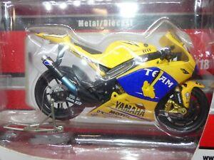 Guitoy 1/18 Yamaha YZR M1 - Velentino Rossi 2006 Camel Yamaha Team Ref 12641
