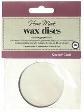 200 Wax Discs Circles for 1lb Jam Jars Kitchen Craft paper 5.5cm diameter
