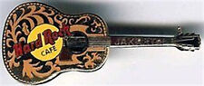 Hard Rock Cafe JAKARTA 1990s Gibson Acoustic GUITAR PIN - HRC Catalog #3713