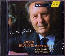 Carlo Maria GIULINI: BRUCKNER Symphony No.9 Live 1996 SWR Stuttgart CD Sinfonie