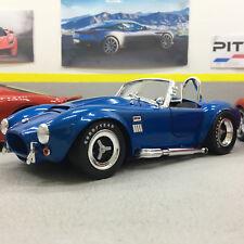 Shelby Cobra 427 Super Snake Blue 1:18 Scale Die-Cast Model Car